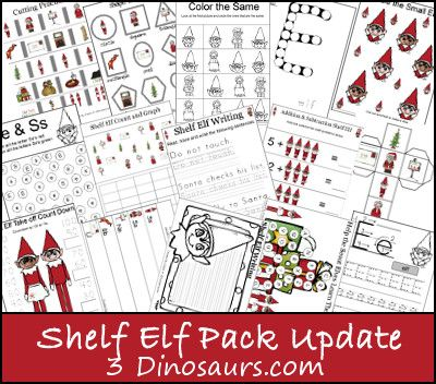 Free Shelf Elf Printable Pack