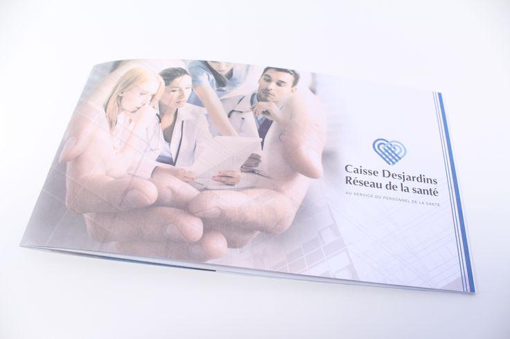 Brochure corporative pour la Caisse Desjardins Réseau de la santé