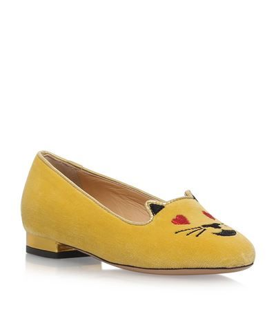 Charlotte Olympia Incy Flirty Kitty Flats available to buy at Harrods. Shop children's designer shoes online and earn Rewards points.