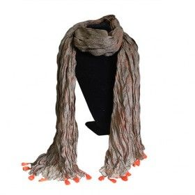 Lilac Rose Tassel Scarves - HipAngles - Wholesale Cotton Scarves #Lilac_Rose_Scarves #Scarves_Lilac_Rose #Indian_Lilac_Scarves #Antique_Tassel_Scarves