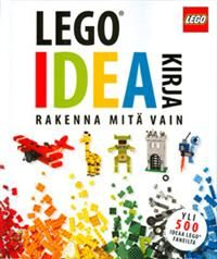 http://www.adlibris.com/fi/product.aspx?isbn=9510388459 | Nimeke: LEGO ideakirja - Tekijä: Daniel Lipkowitz - ISBN: 9510388459 - Hinta: 25,80 €