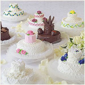 Food & Entertaining - Publix Bakery Selections - Weddings & Special Occasions - Mini Wedding Cakes