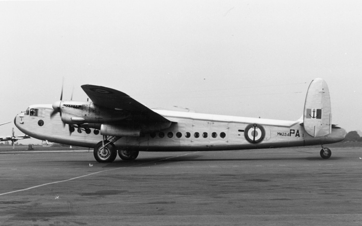 Avro York C1 at the National Cold War Exhibition.Avro York aircraft were used extensively both by the RAF and by a number of British and Commonwealth airlines and charter companies during the 1940s and 1950s. The RAF saw the type become its major long range transport, operating routes with Transport Command to the Middle and Far East.