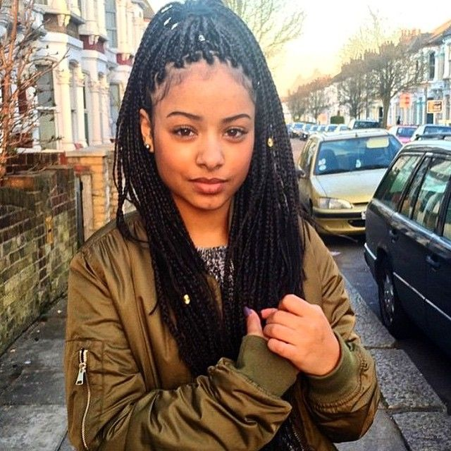 206 Best Images About Hairstyle On Pinterest: 206 Best Images About Box Braids On Pinterest