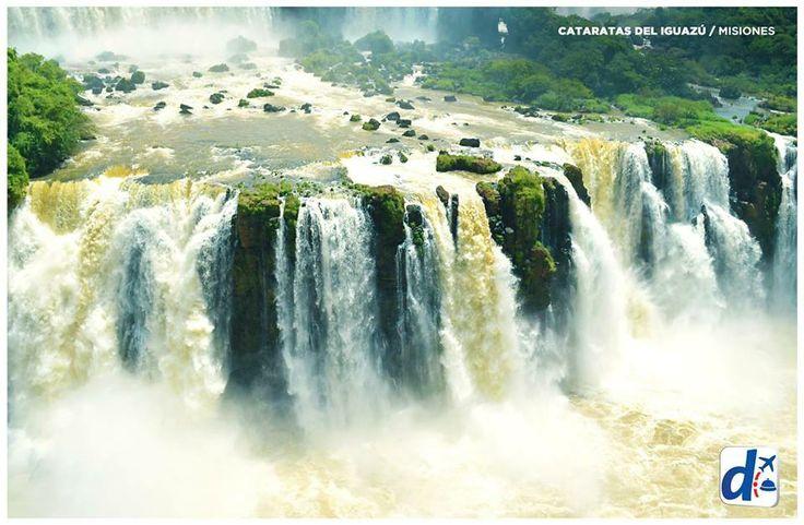 #Misiones - Argentina --> Cataratas del Iguazú.
