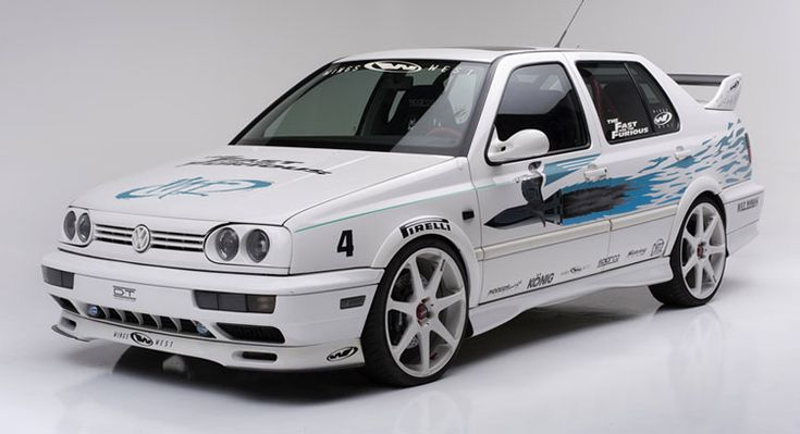 White VW Jetta From Original Fast And Furious Film Is For Sale