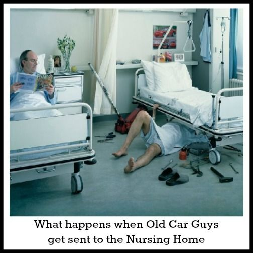 Old Car Guys Don't Change
