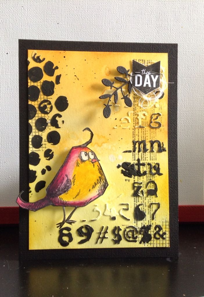 Tim Holtz bird crazy