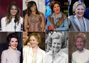 Las primeras damas de Estados Unidos y sus causas