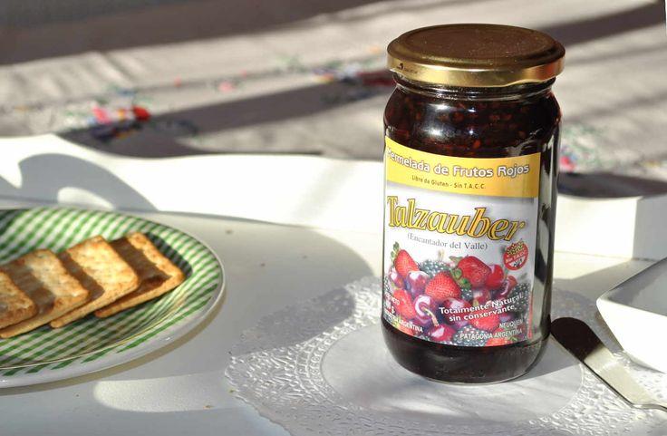 Frutos rojos desayuno