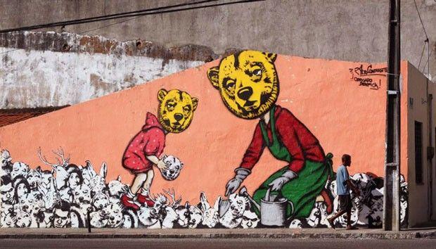 30 artistas de rua  (Foto: Reprodução)  Alto Contraste