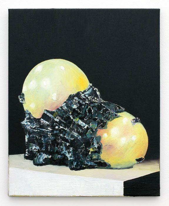 <h5>bog leobs</h5>,2011, oil on canvas, 51,5 x 41,5 cm