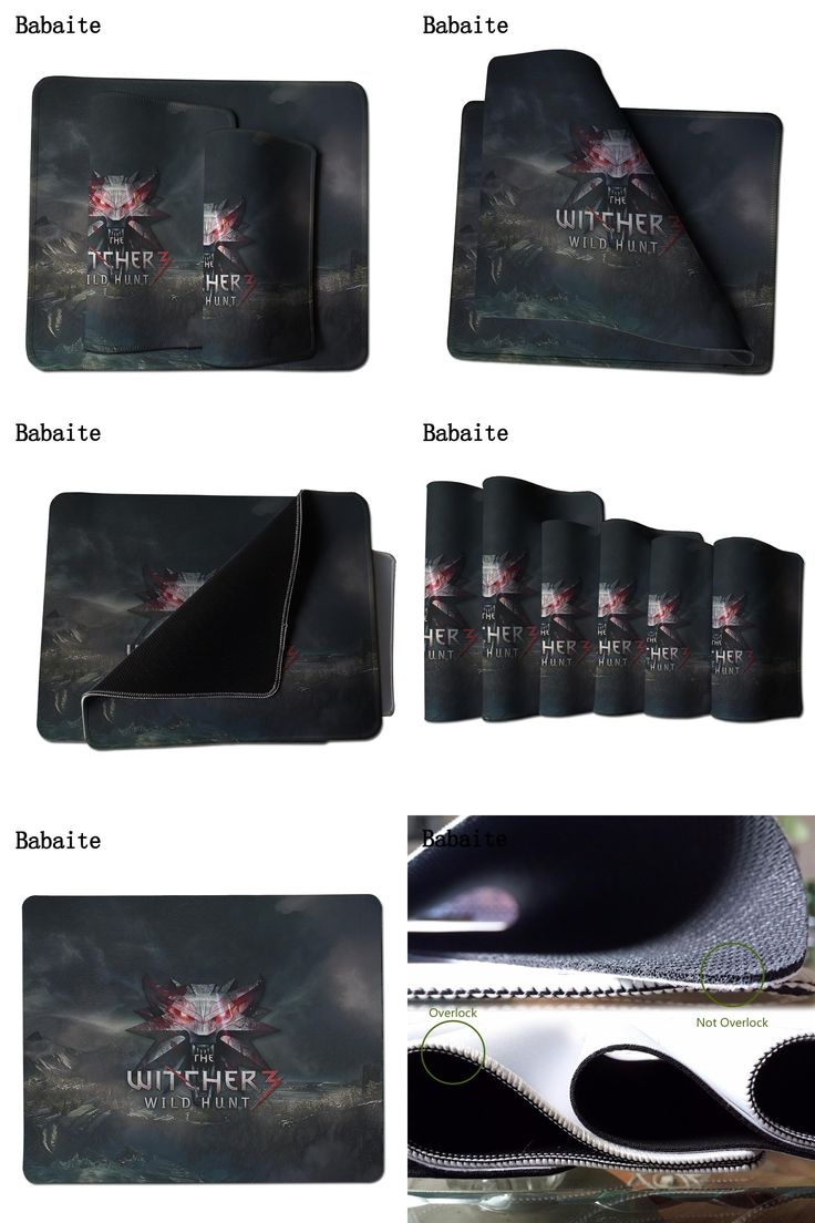 [Visit to Buy] 2017 Alfombrilla Raton Babaite Large New Gaming Mat Mouse Pads For Witcher 3 Pad To Notebook Computer Mousepad Boy Gift Optical  #Advertisement