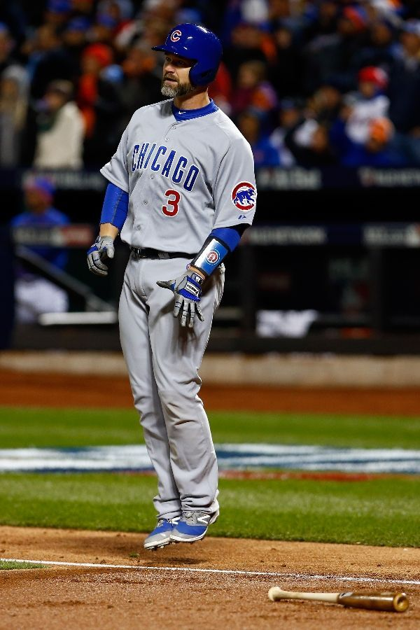 David Ross, CHC////Game 1 NLCS at NYM, Oct ,17,2015