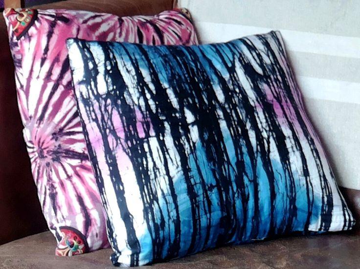 Kussens in kleurrijke prints, fraai in het interieur!