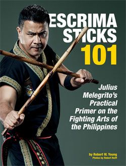 Escrima Sticks 101: Julius Melegrito's Practical Primer on the Fighting Arts of the Philippines --- a FREE e-book for learning the key concepts of the group of arts commonly called escrima, kali or arnis. Julius Melegrito was inducted into the Black Belt Hall of Fame as the 2011 Weapons Instructor of the Year.