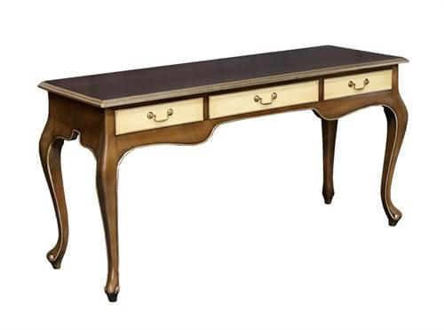 3 Drawer Writing Table with Silver Measurements 1150 x 450 x 780