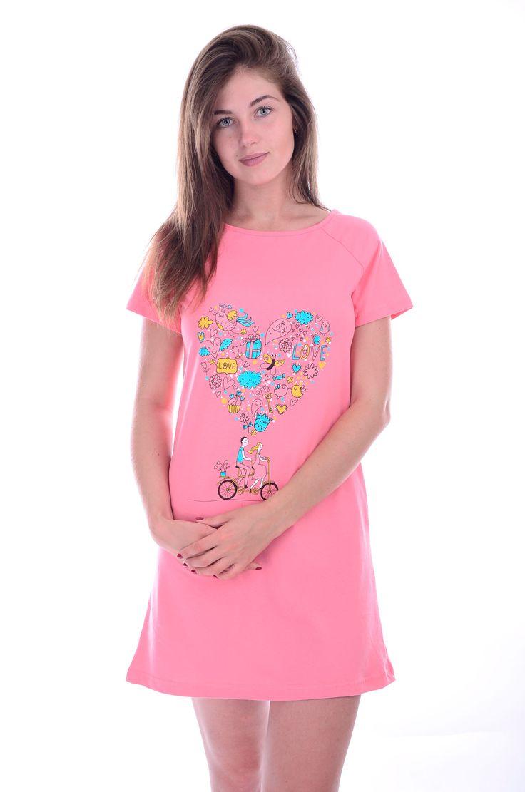 "Сорочка ""Виолетта"", трикотаж картинка с сайта ООО МАлина"