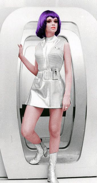 Lt Gay Ellis - Gabrielle Drake - UFO - UK TV series 1970