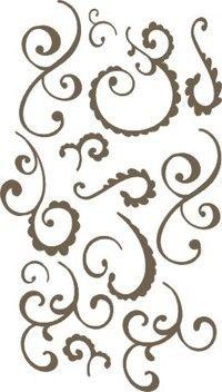 Arabesque stencils