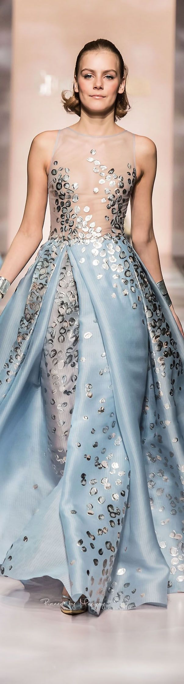 Georges Chakra Spring-summer 2015 - Couture. #FashionSerendipity #fashion #style