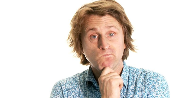 Milton Jones: is Christianity weird? - video | Comment is free | The Guardian