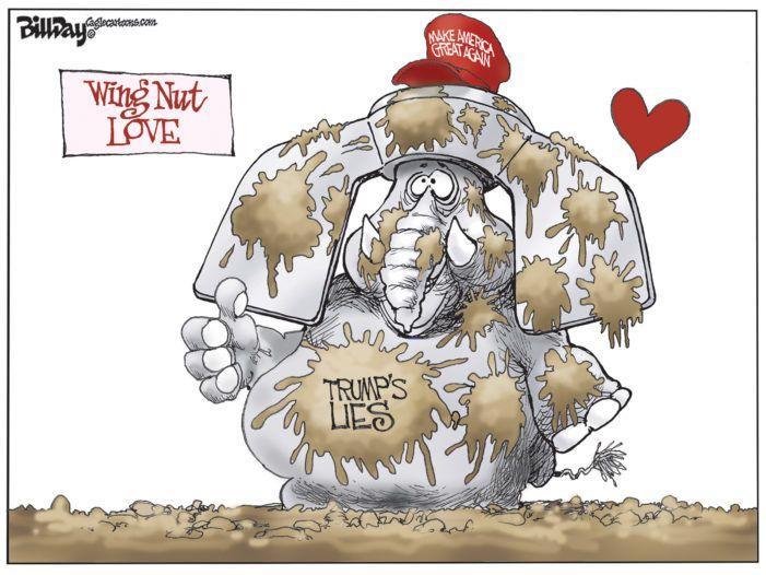 Editorial Cartoon: Wing Nut Love