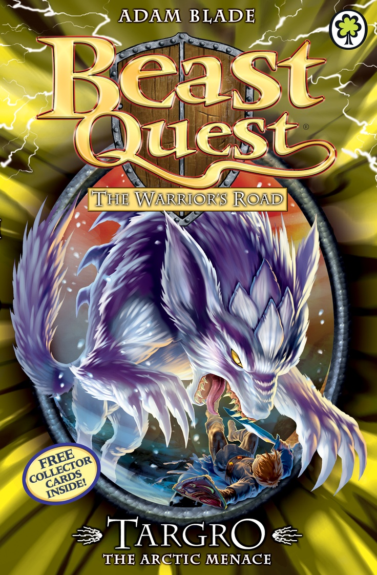 Beast Quest: Targro the Arctic Menace  By Adam Blade  Join Tom on a high-action adventure with terrible Beasts and deadly danger!