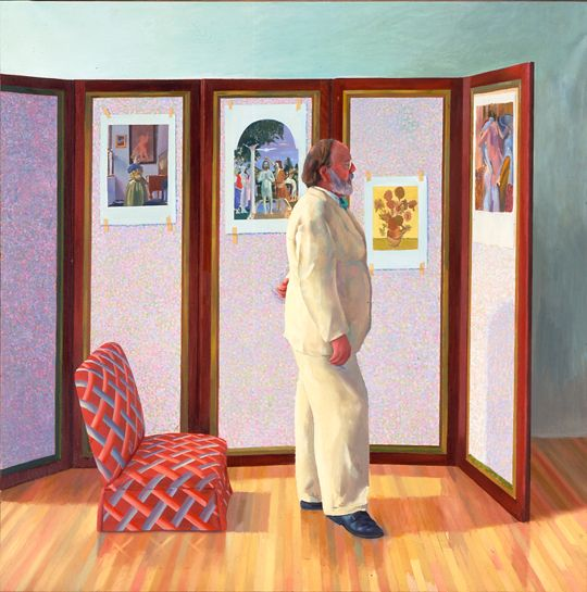 David Hockney - Looking at Pictures on a Screen, 1977