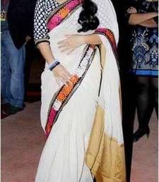 Buy Vidya Balan Indian Traditional Bollywood Designer Partywear saree, Designer Saree vidya-balan-saree online