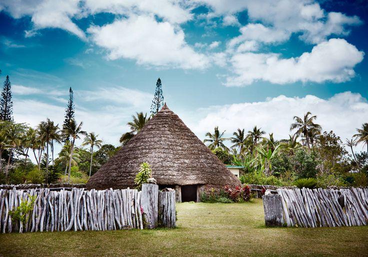 Case traditionnelle - Nouvelle-Calédonie