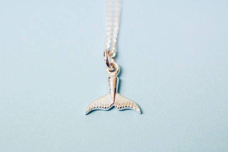 Whale Tale sterling silver pendant by FrankieAndCoNZ on Etsy