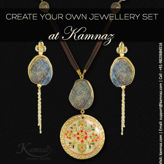 #KamnazJewellery CREATE YOUR OWN SET!!! for more info Visit: kamnaz.com | Email: support@kamnaz.com or Call : +91-9820684516 #exclusive #jewelleryset #necklace #ecommerce #chic #jewellery #handmadejewellery #indochicjewellery #designerjewellery #fashionjewellery #jewelry #mumbai #fashion #exclusive #casual #lightweight #kamnaz #accessory #women #instafashion #instalook #handmade