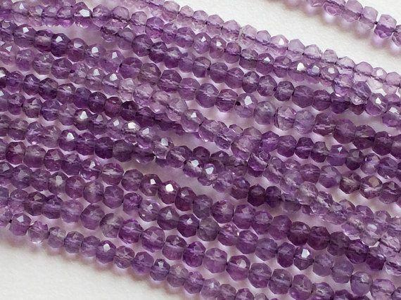 5 Strands WHOLESALE  Amethyst Beads Amethyst by gemsforjewels