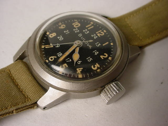 Bulova A17A Military Navigator Watch | Time Pieces ...