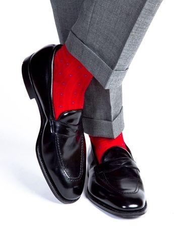 Red Socks Well Dressed Men Dapper Men Men Dress
