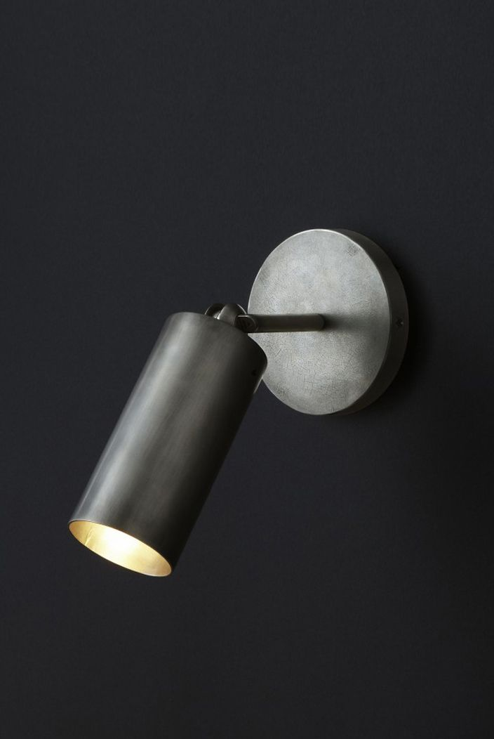 Cylinder sconce apparatus