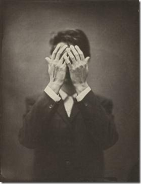 Ben Cauchi, Untitled, 2010, self-portrait, salt print.