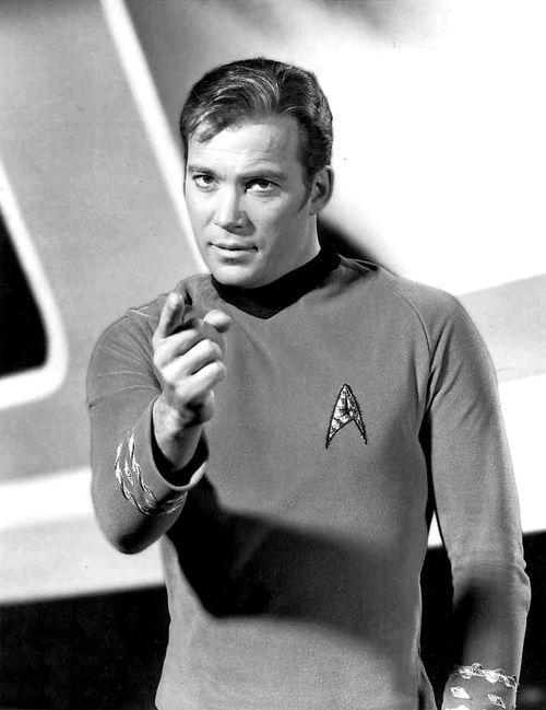 Star Trek: William Shatner as Captain Kirk