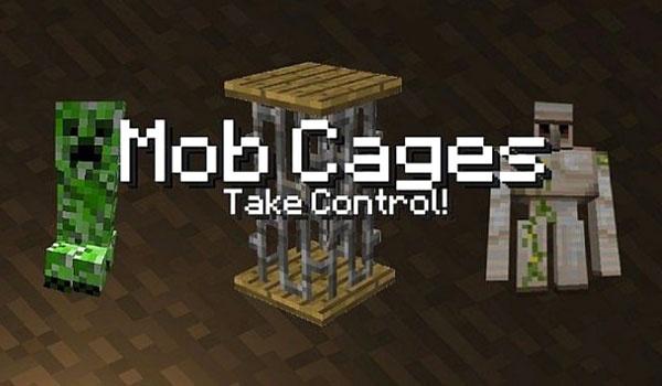 Mob Cages Mod para Minecraft 1.4.6 y 1.4.7