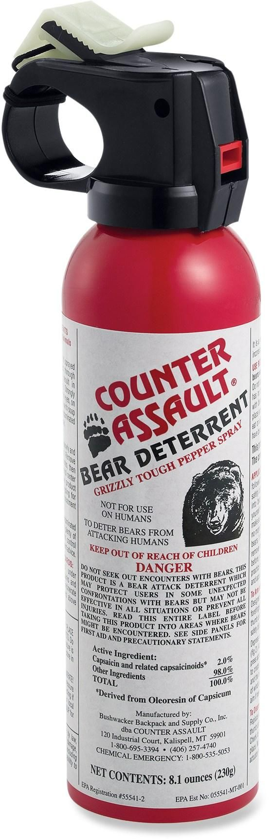 Even if you think your Dad can wrestle a bear, you may want to get him deterrent spray.