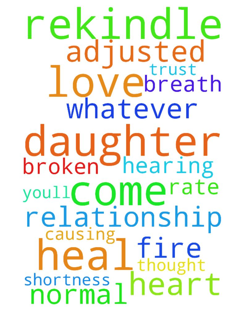 how to heal a broken father daughter relationship