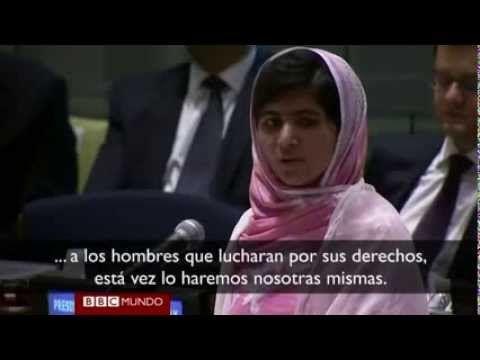 """¿Quién es la nueva Nobel de la Paz? Ella misma te lo explica en 2 minutos. La activista paquistaní Malala Yousafzay y el activista indio Kailash Satyarthi han sido galardonados con el Nobel de la Paz 2014 """"por su lucha contra la opresión de los niños y los jóvenes y por el derecho de todos los niños a la educación"""". Un ejemplo que inspira a todos y que nos invita a reflexionar sobre qué papel jugamos nosotros. En qué estamos ayudando al cambio social desde nuestro pequeño rincón en el mundo."""