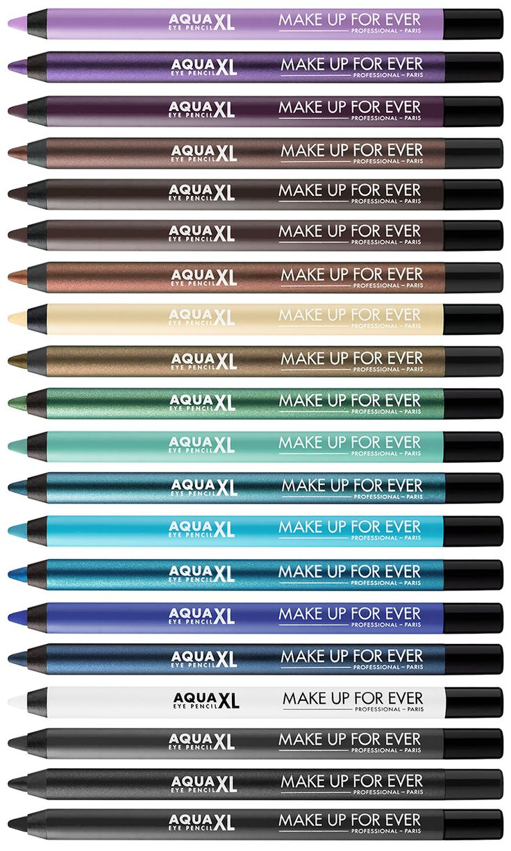 Make Up For Ever Aqua XL Waterproof Eye Pencils for Summer 2016