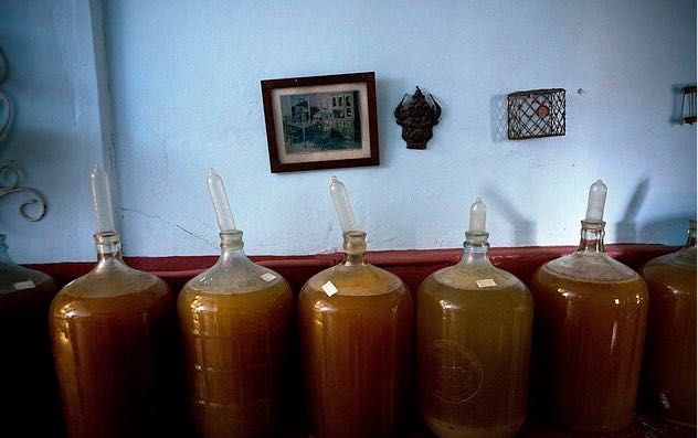 Família cubana produz vinhos com auxílio de preservativos. Revista ADEGA
