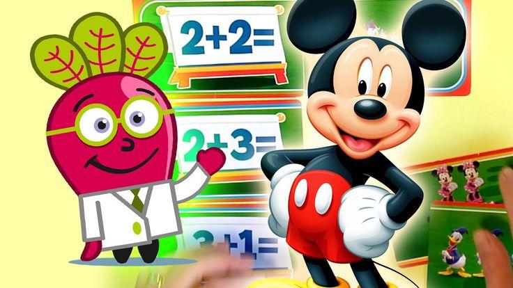 #disney #mickey #mouse #sumas #niños #preescolar #infantil #sin #llevar #actividades #basicas #con #dibujos #educacion #juegos #kinder #matematicas #numeros #sencillas #simples