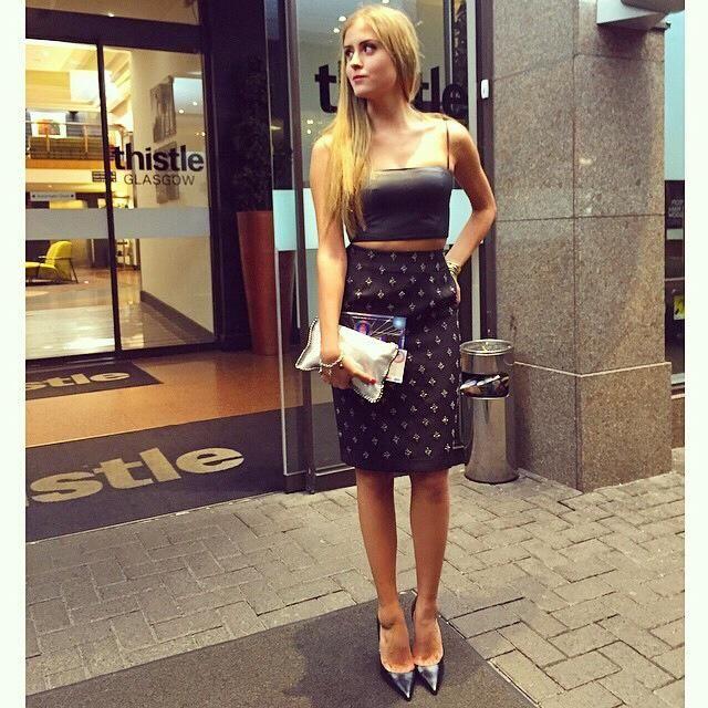 Valentina Ferragni Dress To Party Pinterest