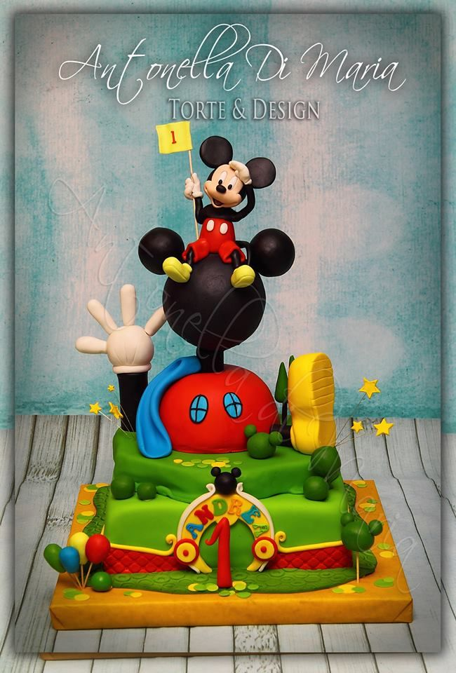 1353 best mickey coomp images on Pinterest Disney cakes