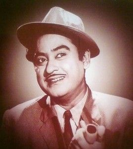 Kishore Kumar. One of the biggest stars among Bollywood playback singers, and one of the great voices of all time. That opinion coming from someone who otherwise listens mainly to opera and classical singers. But I LOVE Kishore. Rarely let a day go by without listening to him.