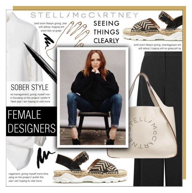 """""""STELLA MC CARTNEY"""" by celine-diaz-1 ❤ liked on Polyvore featuring STELLA McCARTNEY and NYX"""